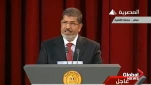Egypt's former president Mohammed Morsi dies after collapse in court: State TV
