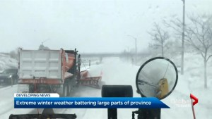 Day in the life of a Toronto snow plow operator