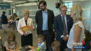 School's back in session – and so is campaigning for Alberta's next election