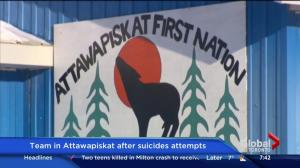 Mental health team lands in Attawapiskat after suicide attempts