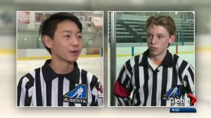 Global Edmonton MVP: Minor Hockey Week refs