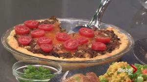 Nutrition: Cheeseburger rice pie