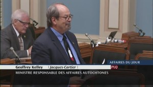 Geoffrey Kelley says good-bye at Quebec National Assembly