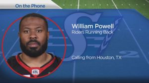 Saskatchewan Roughriders sign running back William Powell to 2-year deal