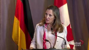 Freeland declines to say directly whether she believes china is a currency manipulator