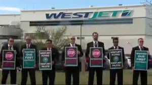 Travellers anxious as WestJet pilot strike looms