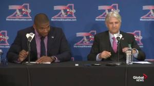 Michael Sam excited to be a part of the Montreal Alouettes