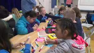 Students come together to learn about residential schools