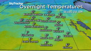 Saskatoon weather outlook: widespread frost expected