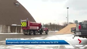 Toronto prepares for major winter storm
