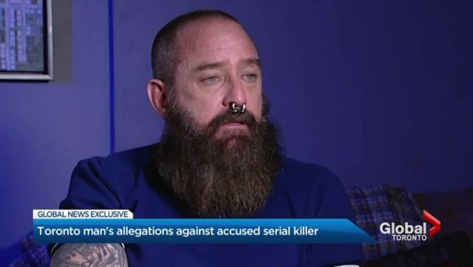 Bruce McArthur had me in a 'kill position,' says Toronto man haunted