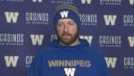 RAW: Blue Bombers Matt Nichols Interview – Nov. 14