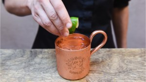 Think twice before sipping your Moscow mule in a copper mug