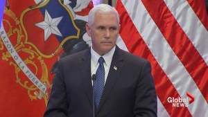 Pence supports Trump's Charlottesville response, says U.S. remains united by 'shared values'