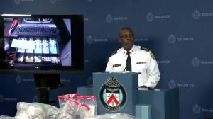 Toronto Police chief stresses regulatory reasons for dispensary crackdown during heated exchange