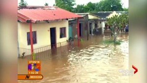 Flooding in Cuba as Storm Alberto lashes Artemisa region