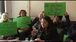 Climate change activists demand action from Peterborough-Kawartha MP Maryam Monsef