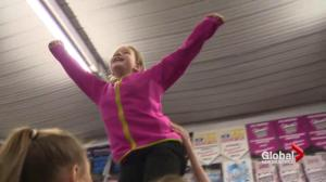 Moncton cheerleading team for children with special abilities soars