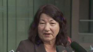 Robert Dziekanski's mother Zofia Cisowski reacts to today's judgment