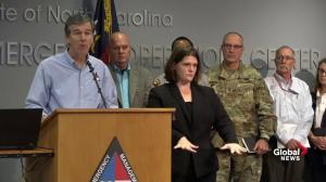 Flood danger more immediate today than landfall: N.C. Governor