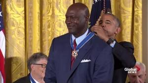 Obama calls Michael Jordan one of the greatest during President Medal of Freedom event