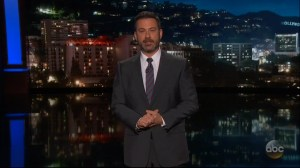 'When did Donald Trump start caring about laws': Kimmel