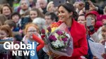 Meghan Markle and Prince Harry get baby advice from Birkenhead residents on royal visit