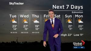 Edmonton Weather Forecast: Aug. 19