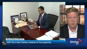 NDP MLA Ravi Kahlon cleared of wrongdoing in ride-hailing controversy