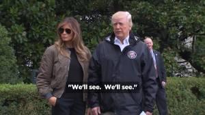 Trump on latest North Korea aggression – 'We'll see. We'll see'