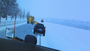 Virtual snowplow being used to train drivers in New Brunswick