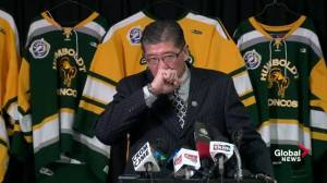 SJHL president holds back tears talking about Humboldt Broncos crash