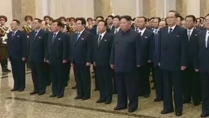 North Korea pays respect to Kim Jong Il on 7th anniversary of death