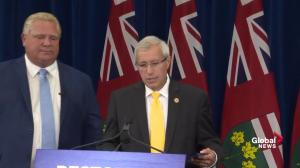 Ontario finance minister says commission, audit has expense limit