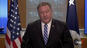 Mike Pompeo: Iran represents a threat to international security