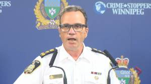 Police Chief Danny Smyth on Winnipeg's rising crime rates