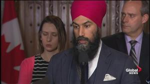 Accusations against Canada by Indian media 'baseless': Jagmeet Singh