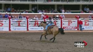 67 year old an inspiration for all at Calgary Stampede