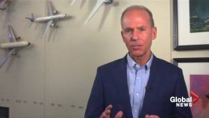 'Lives depend' on plane safety: Boeing CEO says company determined to improve 737 MAX
