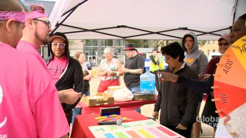 'Amazing Race Against HIV' excites downtown core