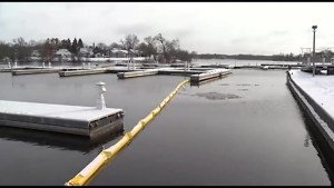 Clean up continues at Peterborough Marina after GE spill