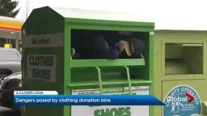 Increased concern about donation bins after recent deaths
