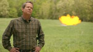 Brian Kemp 'blows up' spending, has 'big truck to round up illegals'