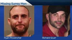 RCMP searching for two missing men from Surrey