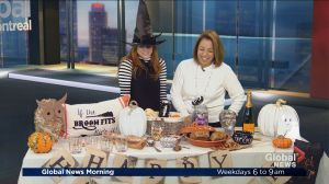 Fancy Halloween tables and pumpkin recipes