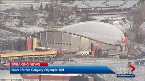 Calgary 2026 Olympic deal struck between federal and provincial governments