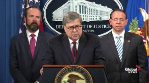 William Barr addresses reasons why Muller Report is partly redacted