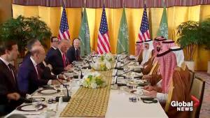 Trump calls Saudi Arabia's Mohammed bin Salman 'friend of mine,' silent on Khashoggi