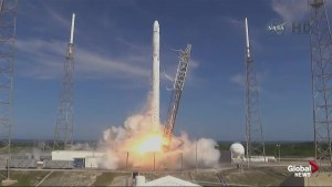 SpaceX resupply mission launches