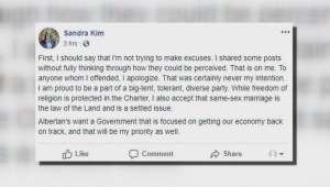 UCP nomination candidate apologies